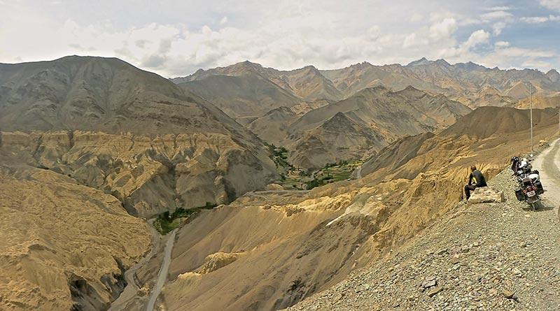 Straße nach Padum, Zanskar über Penzi La Pass