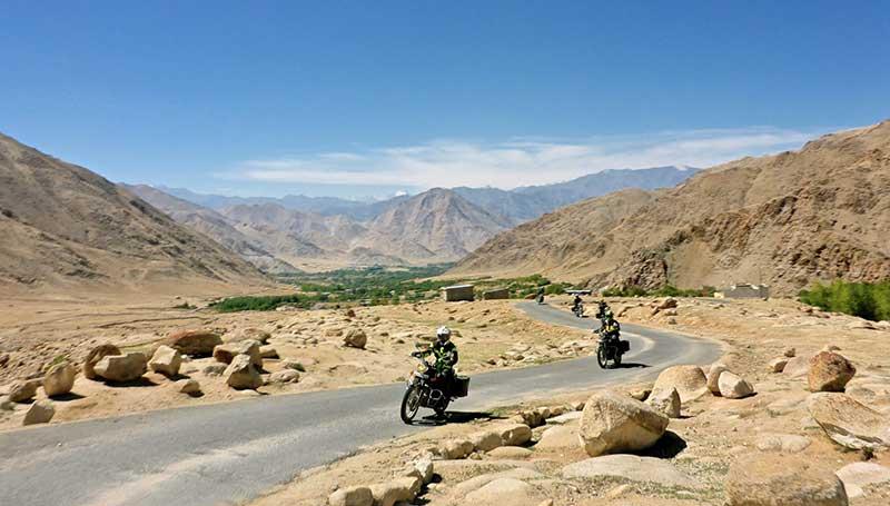 Straße nach Kargil über Fotu La Pass