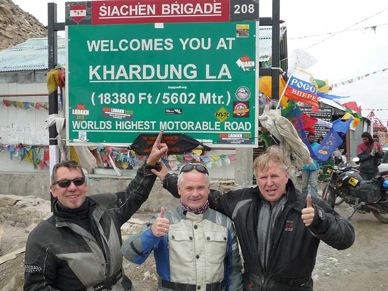 Khardung La Pass im indischen Himalaya