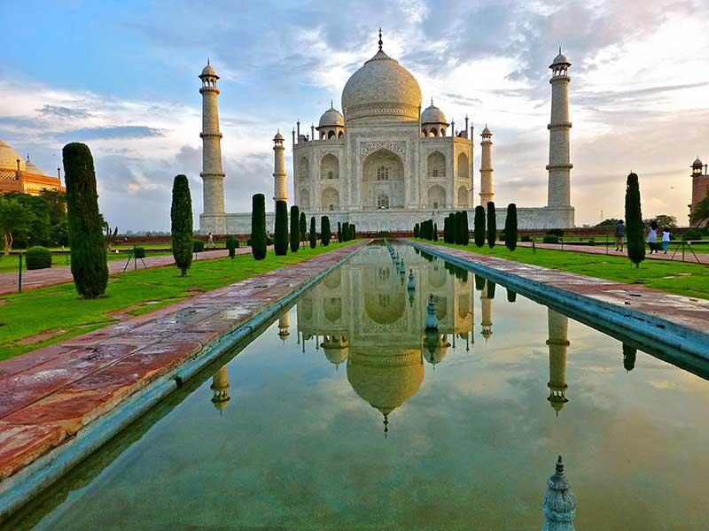 Taj Mahal in Agra bei Delhi