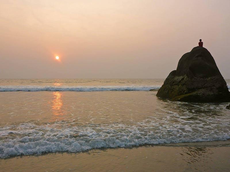 Benaulim Strand, Goa