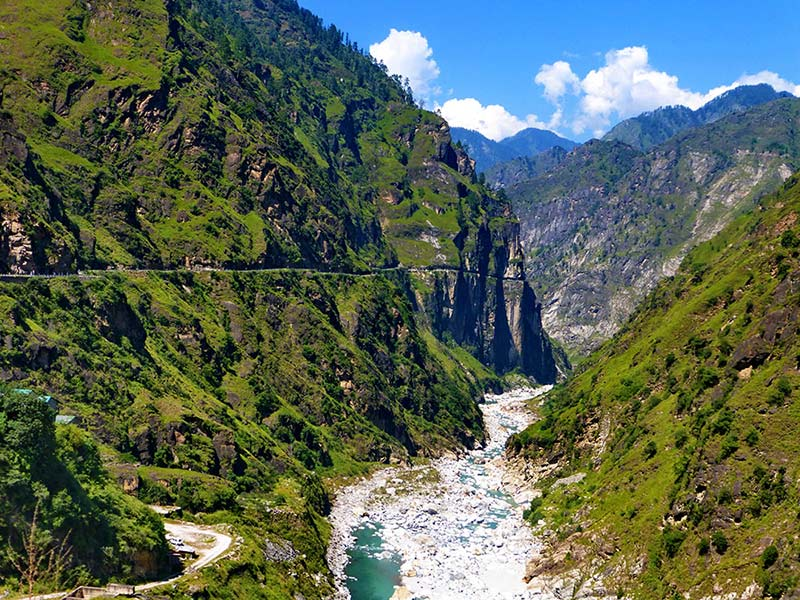 Thirthan Valley, großer Himalaya-Nationalpark