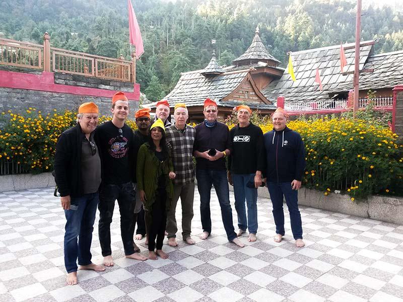 Tempelkomplex im Parvati-Tal