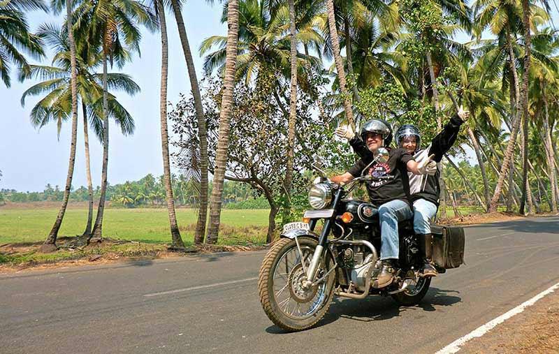 Auf den Straßen von Süd-Goa