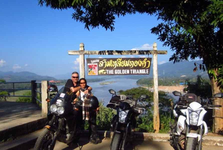 Das goldene Dreieck in Nord Thailand