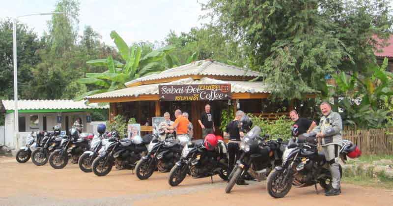 Gruppenbild in Nord Thailand