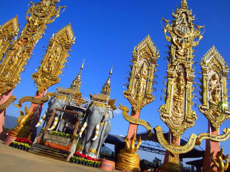 Tempel in Nordthailand
