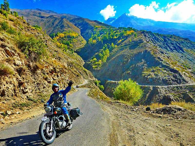 Verzauberte Landschaften im Sutlej-Tal